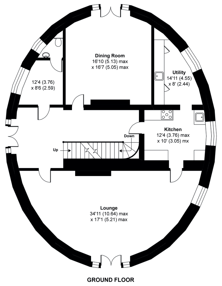 The Round House - Ground Floor - Havering-atte-Bower